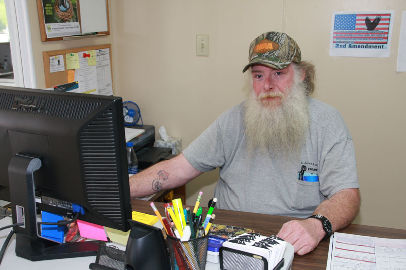 Our Service Manager, Cliff Heath AKA The Doc